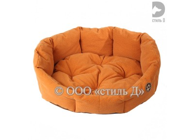 Лежанка с мягкой подушкой