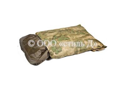 Лежанка прямоугольная милитари со съемным чехлом