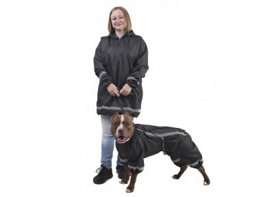 Комплект дождевик для человека/комбинезон для собаки КПЧЖ01
