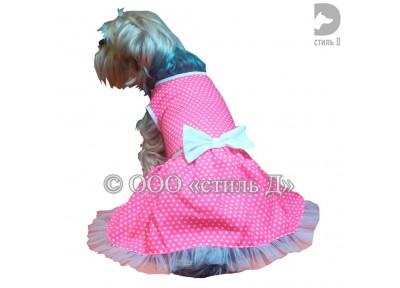 Платье с бантом «л29»