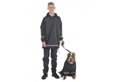 Комплект дождевик/комбинезон для человека и собаки КПЧМ01