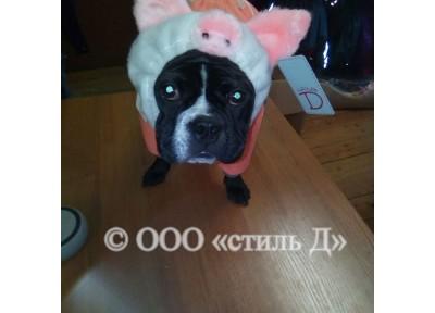 Шапка-свинка нг19