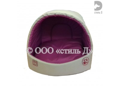 Домик ракушка с мягкой подушкой